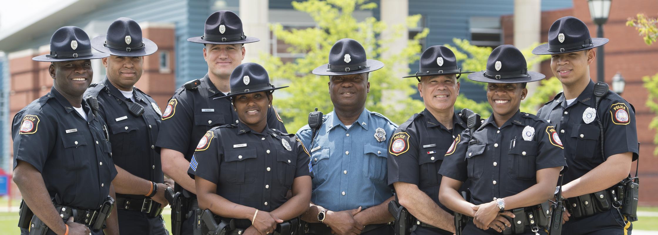 DSU Police Department Staff